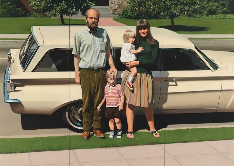 An image from Robert Bechtle, an artist from the Bay Area