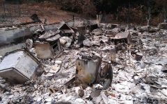 Peggy's house in San Lorenzo Valley was ravaged by the 2020 California wildfires