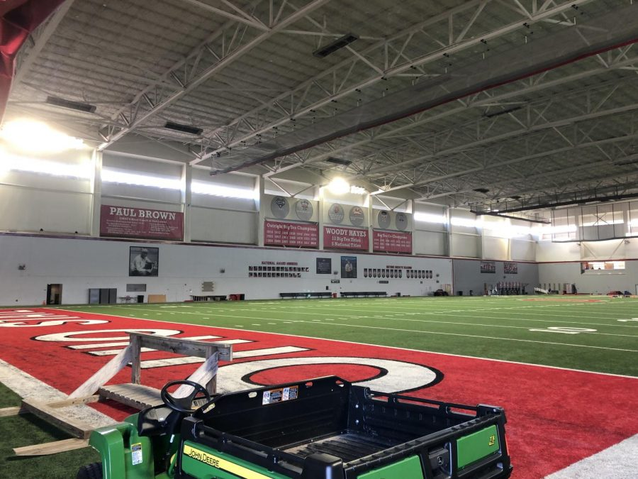 Ohio State indoor field